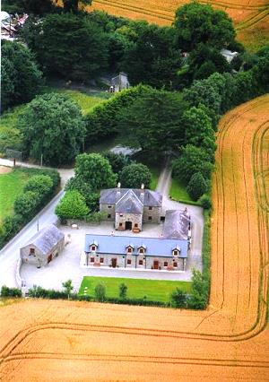 Aerial View of Drummeenagh Cottages